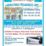 Laboratorio pedagogico APEI a Latisana