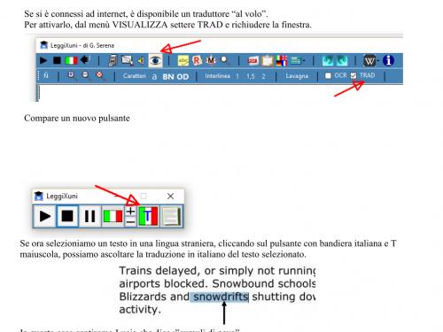 Traduzione al volo con Leggixme